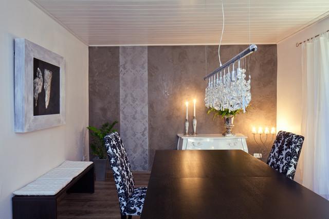 Marmorputz in lila und wei modern wohnbereich for Marmorputz bad
