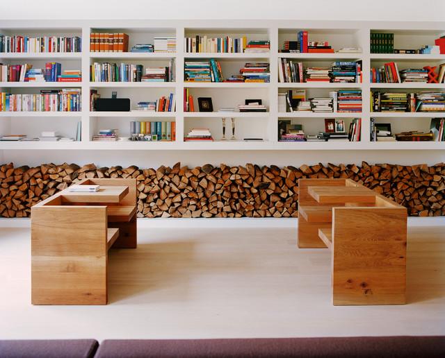 wohnzimmer rustikal: wohnen im landhausstil modernes haus mit ... - Wohnzimmer Modern Rustikal