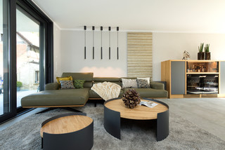 Moderne Wohnzimmer Mit Hausbar Ideen Design Bilder Houzz