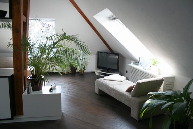 wohnzimmer design modern moderner dachboden modern wohnzimmer hannover von