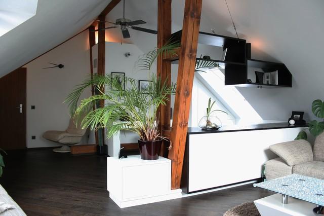 moderner dachboden - modern - wohnzimmer - hannover - von lico design