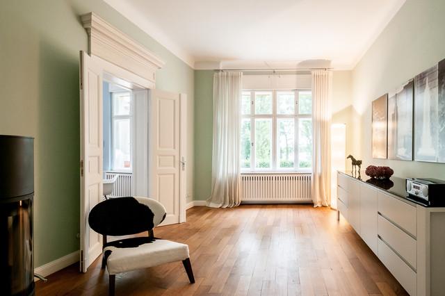 Musikzimmer klassisch wohnzimmer berlin von for Wohnzimmer klassisch