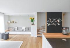 8 Beispiele, Treppen vom Wohnraum abzutrennen