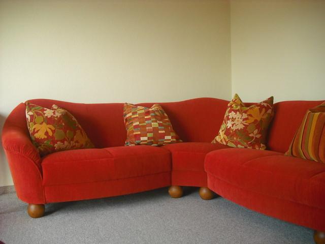 Neubezug polsterm bel contemporary living room other for Raumgestaltung zimmer