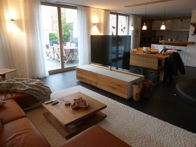 wohnzimmer modern : ess und wohnzimmer modern ~ inspirierende ...