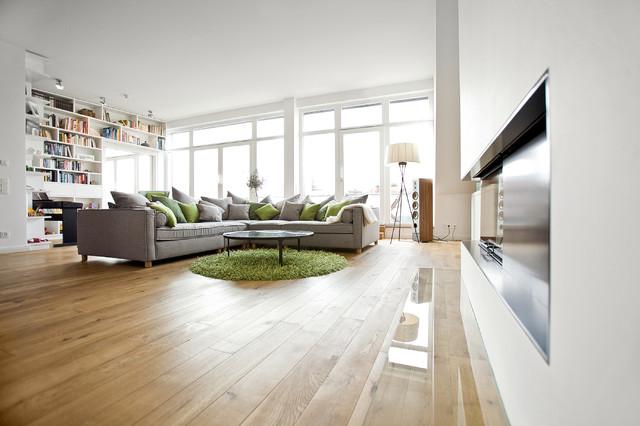 Penthouse Berlin Prenzlauer Berg Modern Wohnzimmer