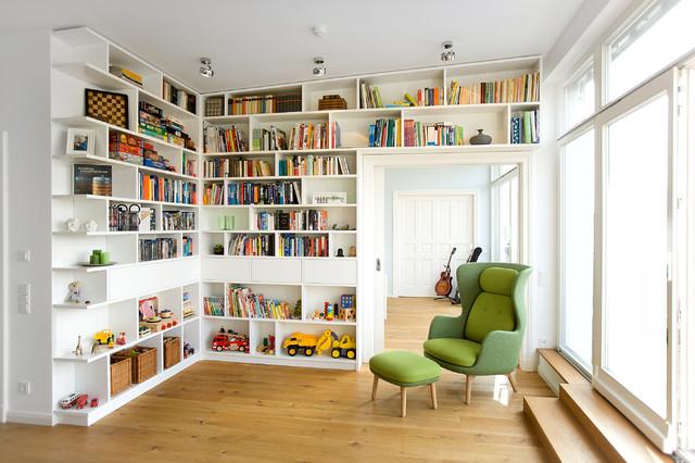 penthouse berlin prenzlauer berg modern wohnbereich. Black Bedroom Furniture Sets. Home Design Ideas