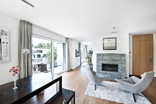 penthouse modern wohnbereich m nchen von edzard. Black Bedroom Furniture Sets. Home Design Ideas