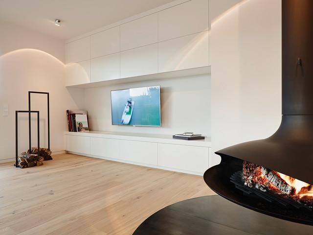 Innenarchitektur modern kamin  Penthouse Kamin - Modern - Wohnbereich - Frankfurt am Main - von ...