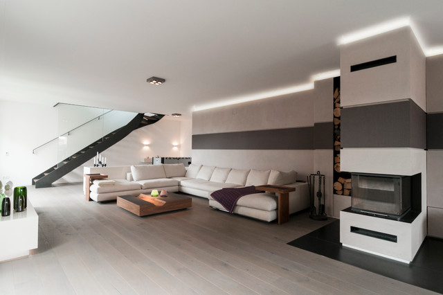 penthouse munich contemporary living room munich. Black Bedroom Furniture Sets. Home Design Ideas