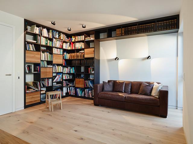 Innenarchitektur design modern wohnzimmer  Penthouse Regal - Modern - Wohnzimmer - Frankfurt am Main - von ...