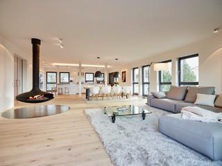 Penthouse wohnbereich modern wohnbereich frankfurt am main von honeyandspice - Innenarchitektur frankfurt am main ...