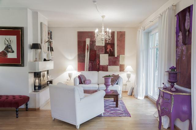 petra mitterer kreativ wohnen klassisch wohnzimmer. Black Bedroom Furniture Sets. Home Design Ideas