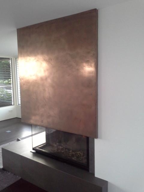 Schon PUR Metall, Bronce Oberfläche Modern Wohnbereich