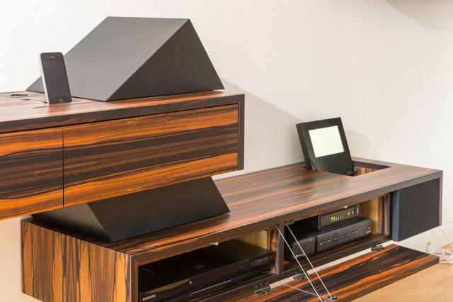 tv m bel eiche modern. Black Bedroom Furniture Sets. Home Design Ideas