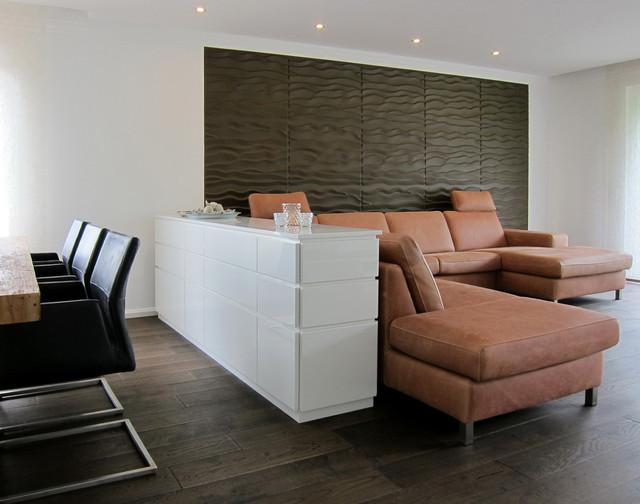 sideboard als raumtrenner - modern - wohnzimmer - köln - von, Wohnzimmer entwurf