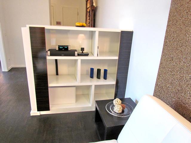 sideboard mit musikanlage, eine art modernes musikzimmer, Wohnzimmer