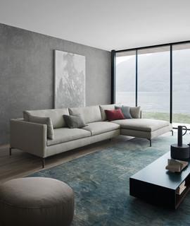 Sitzecke Mit Novamobili Couchtisch Contemporary Family Room