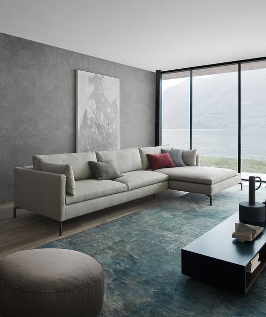 Wohnzimmer mit livarea for Minimalistisch werden