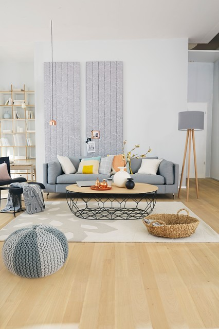 Skandinavisch scandinavian-living-room