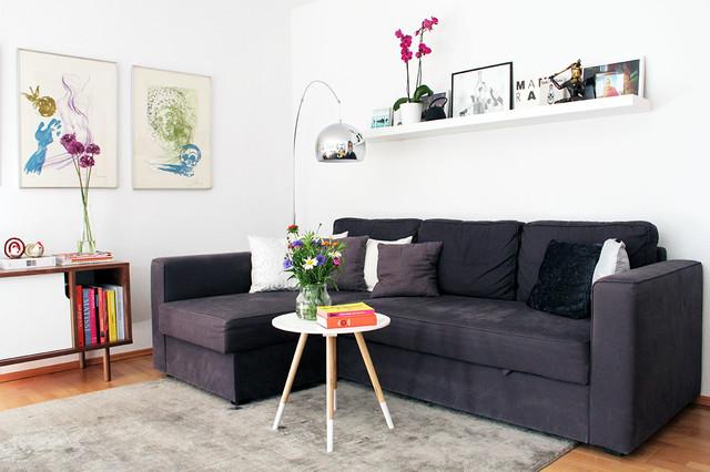kleines apartment mit skandinavischem interieur neues