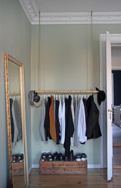 Kleiderstange selber bauen - die DIY-Alternative zum ...