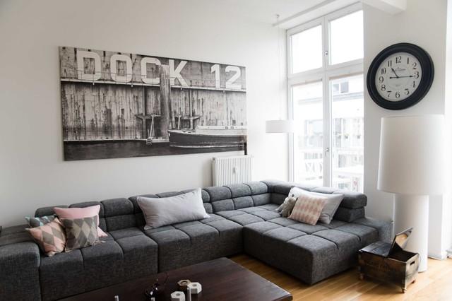 textilfabrik wird zur loftwohnung skandinavisch
