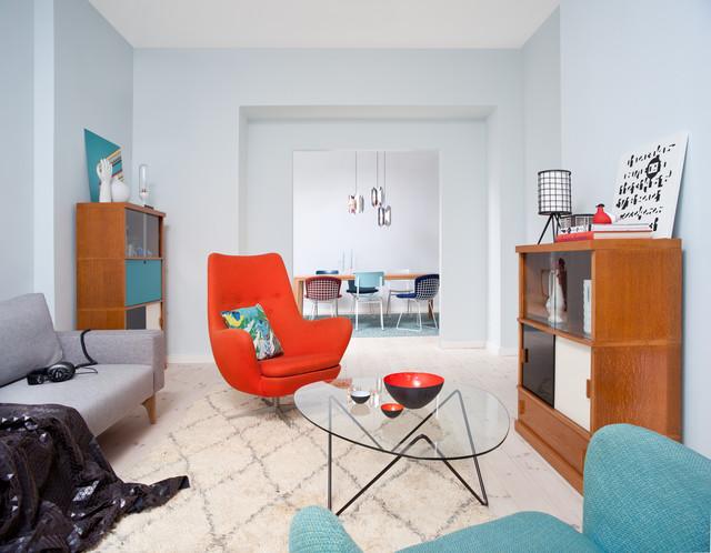 that's fusion - anni '50 - soggiorno - berlino - di vintagency - Soggiorno Anni 50