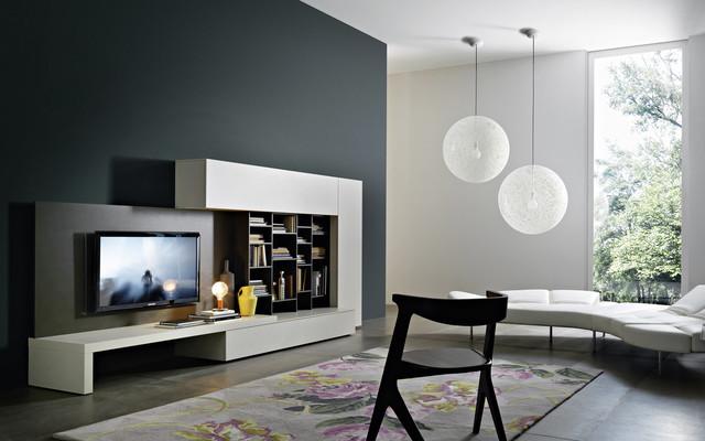 TV Wand Lampo L2-21A - Moderno - Soggiorno - Berlino - di ...