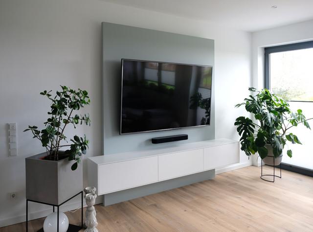 TV-Wand - Modern - Wohnzimmer - Düsseldorf - von Mantz GmbH ...