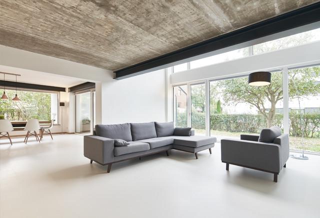 umbau elternhaus zum drei generationen haus industrial sal n otras zonas de face2o5o. Black Bedroom Furniture Sets. Home Design Ideas