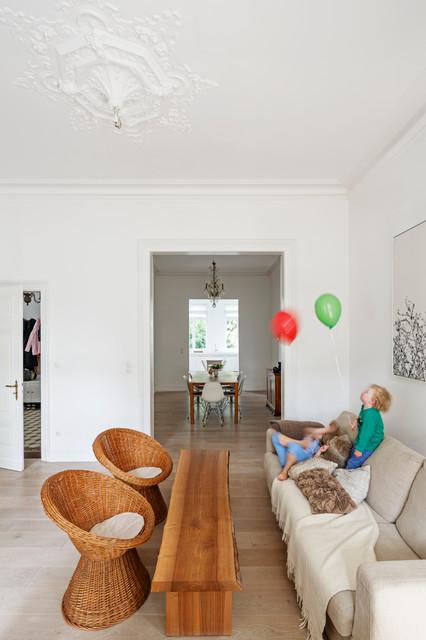 Falke Architekten Köln umbau historische villa bei bonn modern wohnzimmer köln