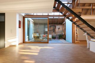 Umbau Scheune K Modern Wohnbereich Stuttgart Von W3 Architekten