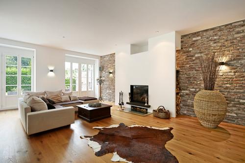 rustikaler stil für ihr wohnzimmer - wohnen & garten - Wohnzimmer Rustikal Modern