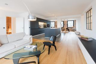 Industrial Wohnzimmer Ideen, Design & Bilder   Houzz