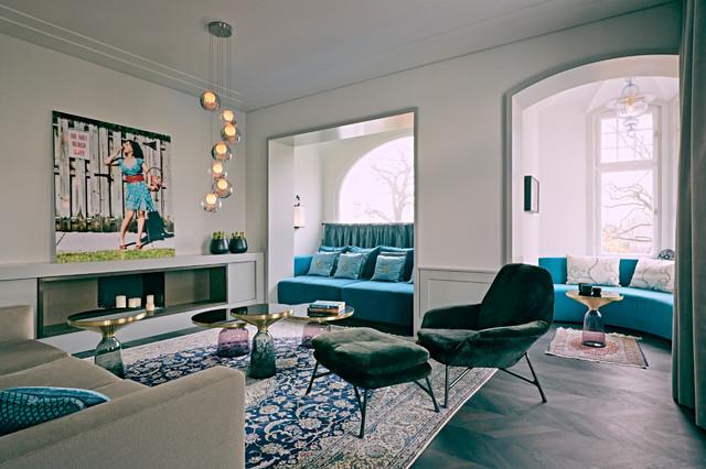 villa berlin westend modern wohnbereich berlin. Black Bedroom Furniture Sets. Home Design Ideas