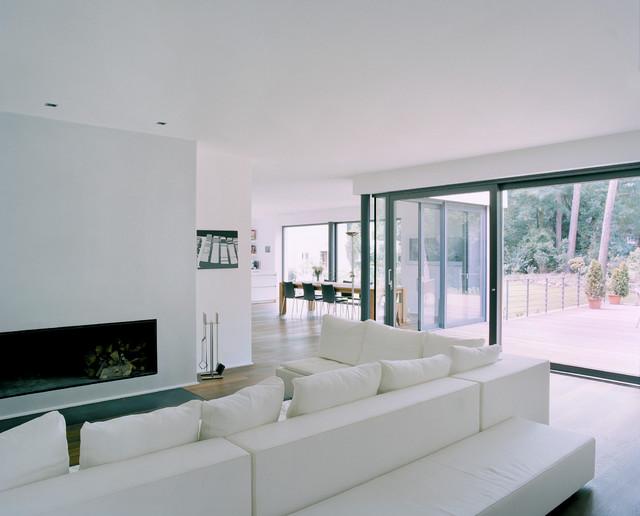 Villa in berlin dahlem minimalistisch wohnbereich berlin