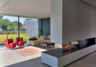 Villa v premium villa im m nsterland modern - Wohnzimmer dortmund ...