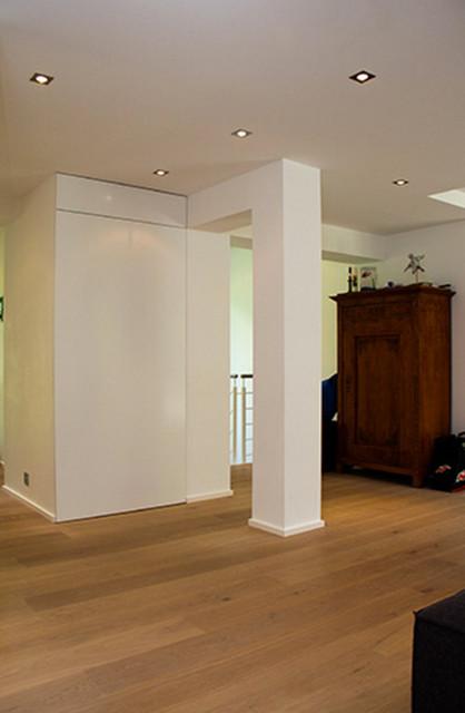 Wandb ndig eingebaute garderobe for Einbauschrank garderobe modern