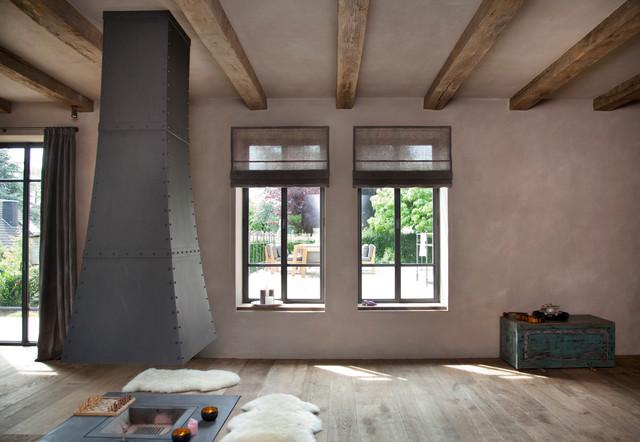 Wandgestaltung mit Kalkmarmorputz - Landhausstil ...