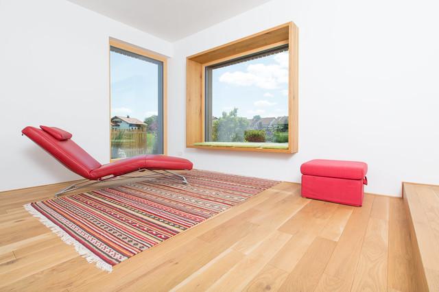 wohnhaus f r eine familie modern wohnbereich sonstige von ku architekten. Black Bedroom Furniture Sets. Home Design Ideas