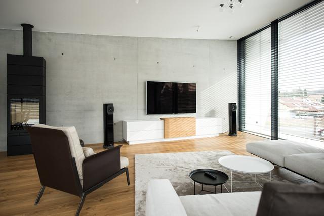 Wohnhaus_Wohnbereich - Modern - Wohnzimmer - Stuttgart - von ...