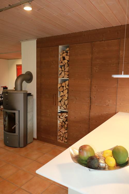 Aus einer neuen Küche wurde die Umgestaltung des gesamten Wohnraums