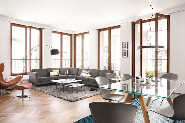 Wohnzimmer - Contemporary - Living Room - Dusseldorf - by BoConcept ...