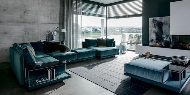 Wohnzimmer - Cube Lounge von IP design - Modern - Wohnzimmer ...