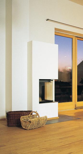 Wohnzimmer mit Ofen - Modern - Wohnzimmer - Nürnberg - von ...
