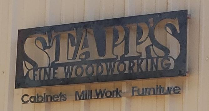 Stapp's Fine Wood Working logo