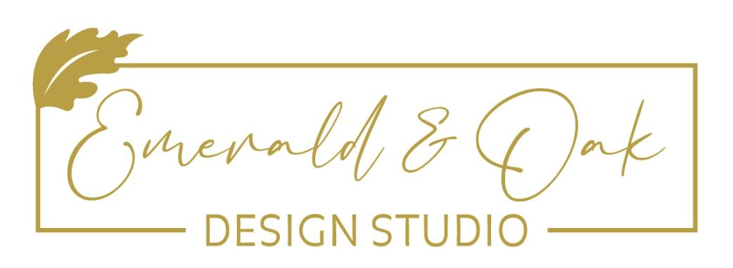 Emerald & Oak Design Studio logo