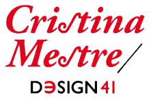 Cristina Mestre/ Design41 logo