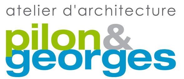 Logo atelier d'architecture PILON & GEORGES
